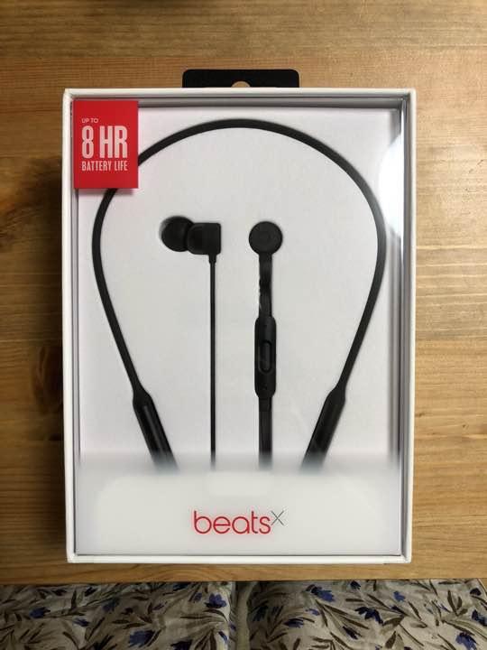 beats x ワイヤレス イヤホン ブラック 黒 新品未開封