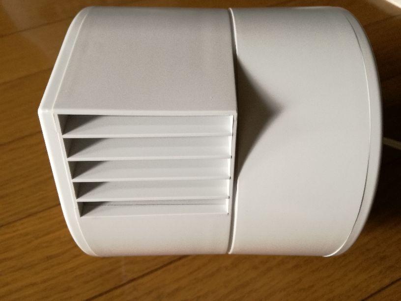 中古 送料無料 無印良品 デスクファン MUJI 卓上扇風機 AT-DF09R3 強弱2段