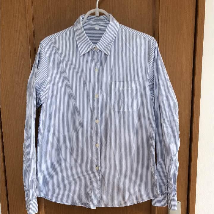 ストライプシャツ 無印良品