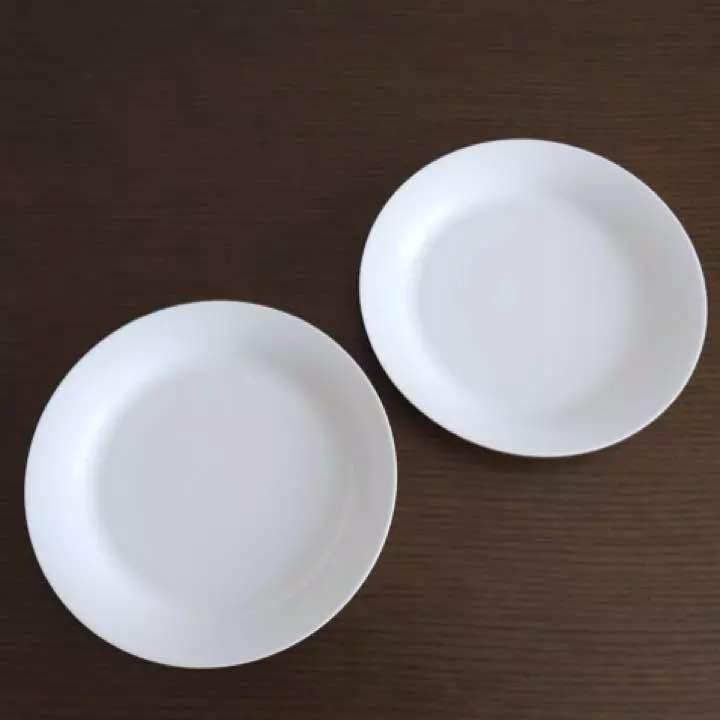無印良品◇パスタ カレー皿 ボーンチャイナ お皿 食器 2枚セット