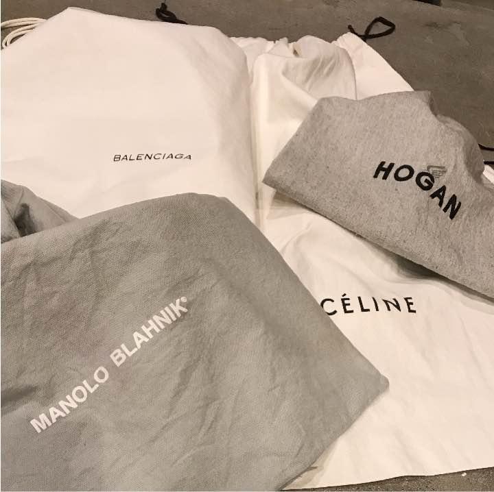 ゆう様専用 CELINE, BALENCIAGA, etc...ブランド巾着袋