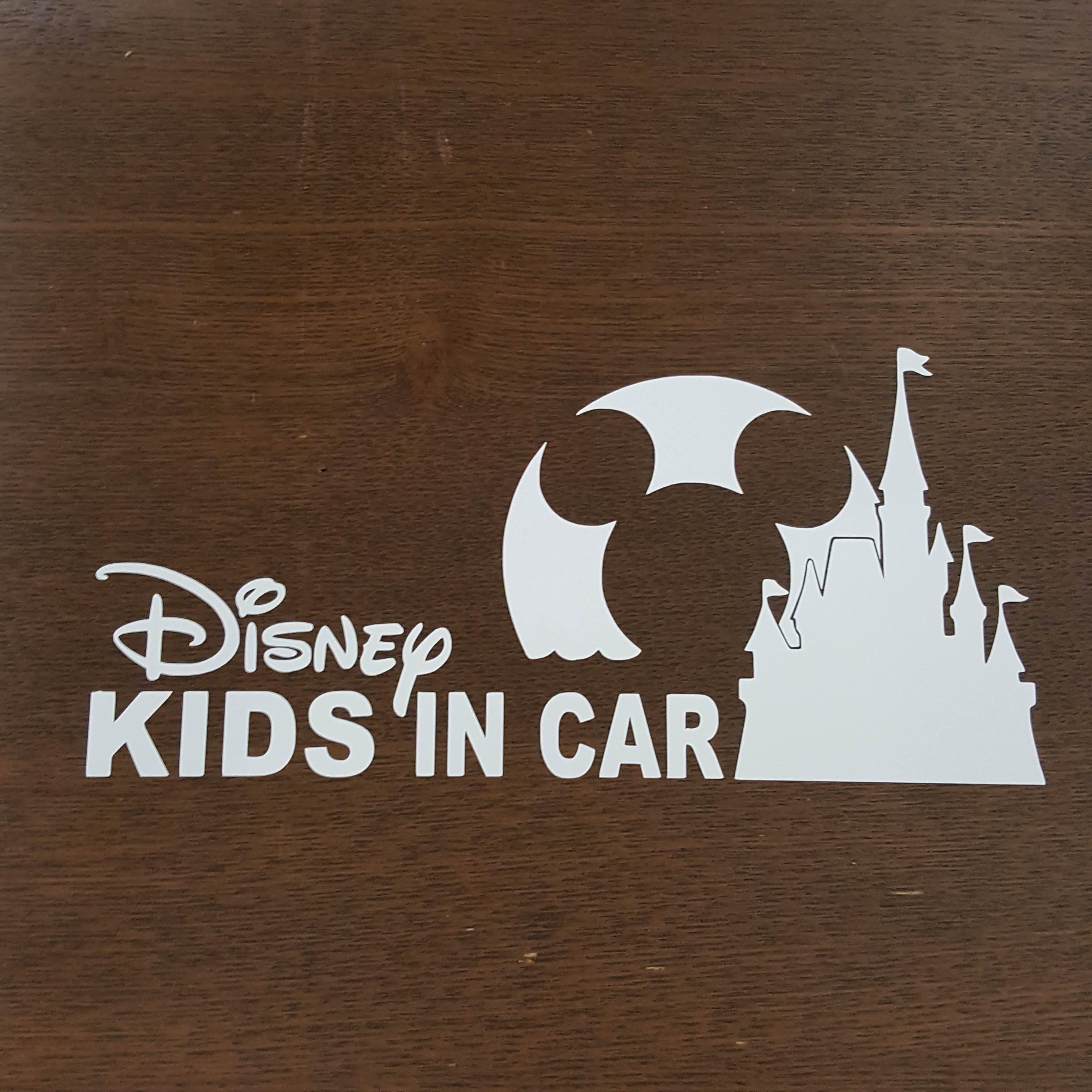 メルカリ - ディズニー ロゴ キッズインカー baby in car ステッカー 車