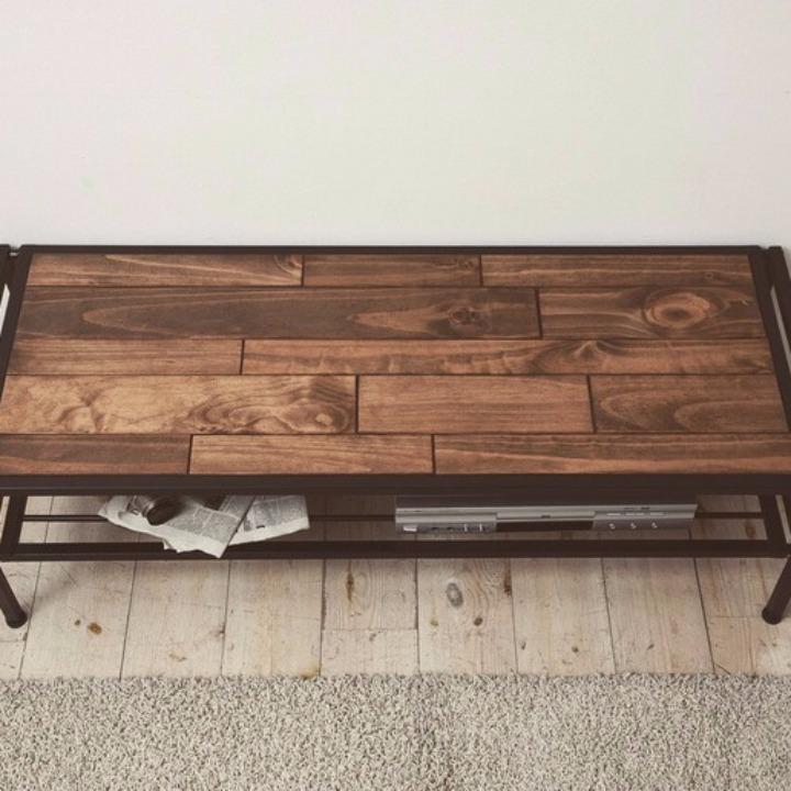 industrial pine wood tv av board 120cm. Black Bedroom Furniture Sets. Home Design Ideas