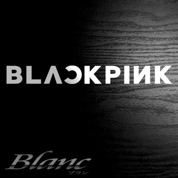 ☆BLACK PINK (ブラックピンク) ロゴ ステッカー 韓国グループ