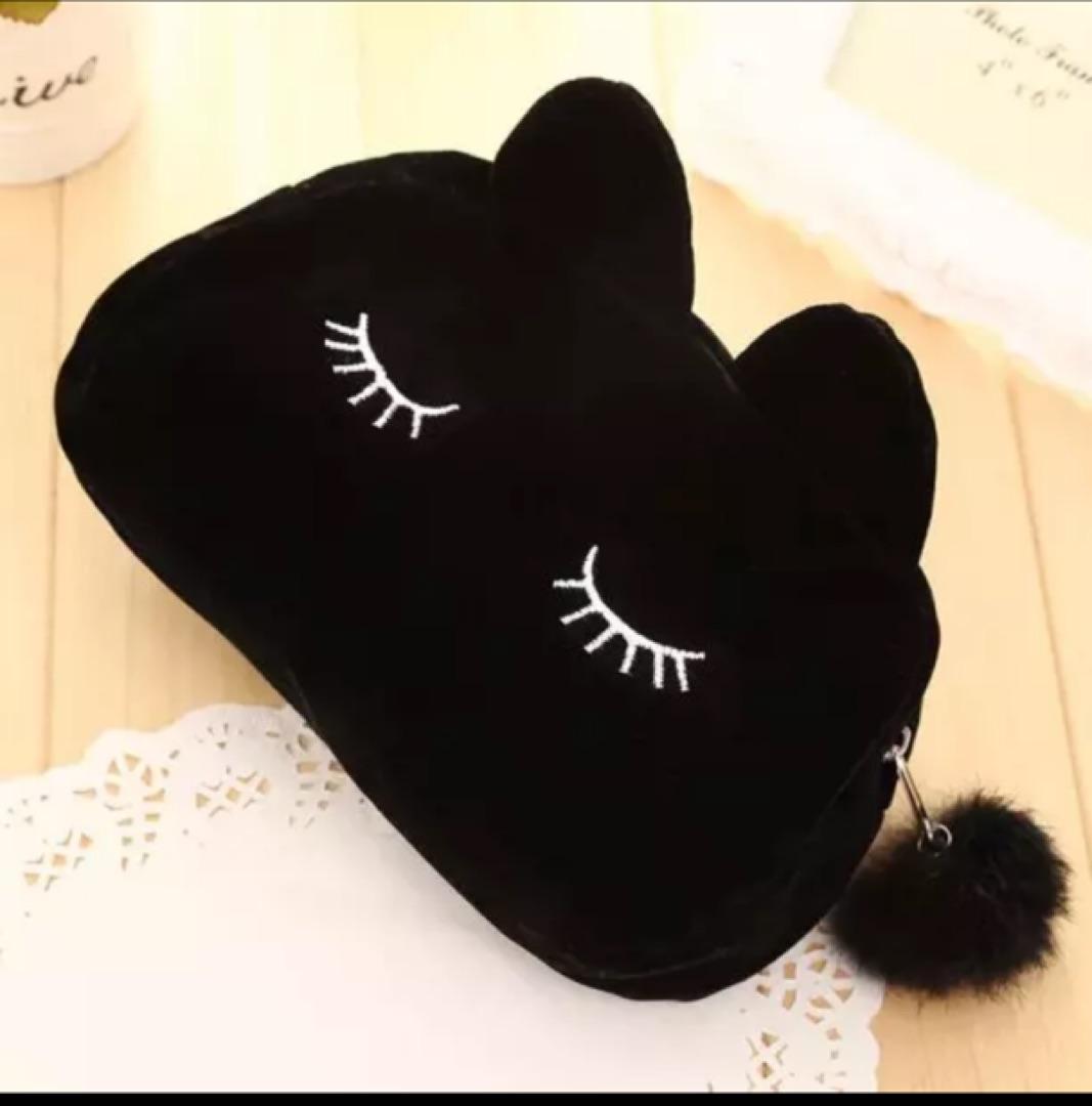 メルカリ - 新品未使用 黒色 猫耳 黒 ブラック ポーチ 可愛い かわいい