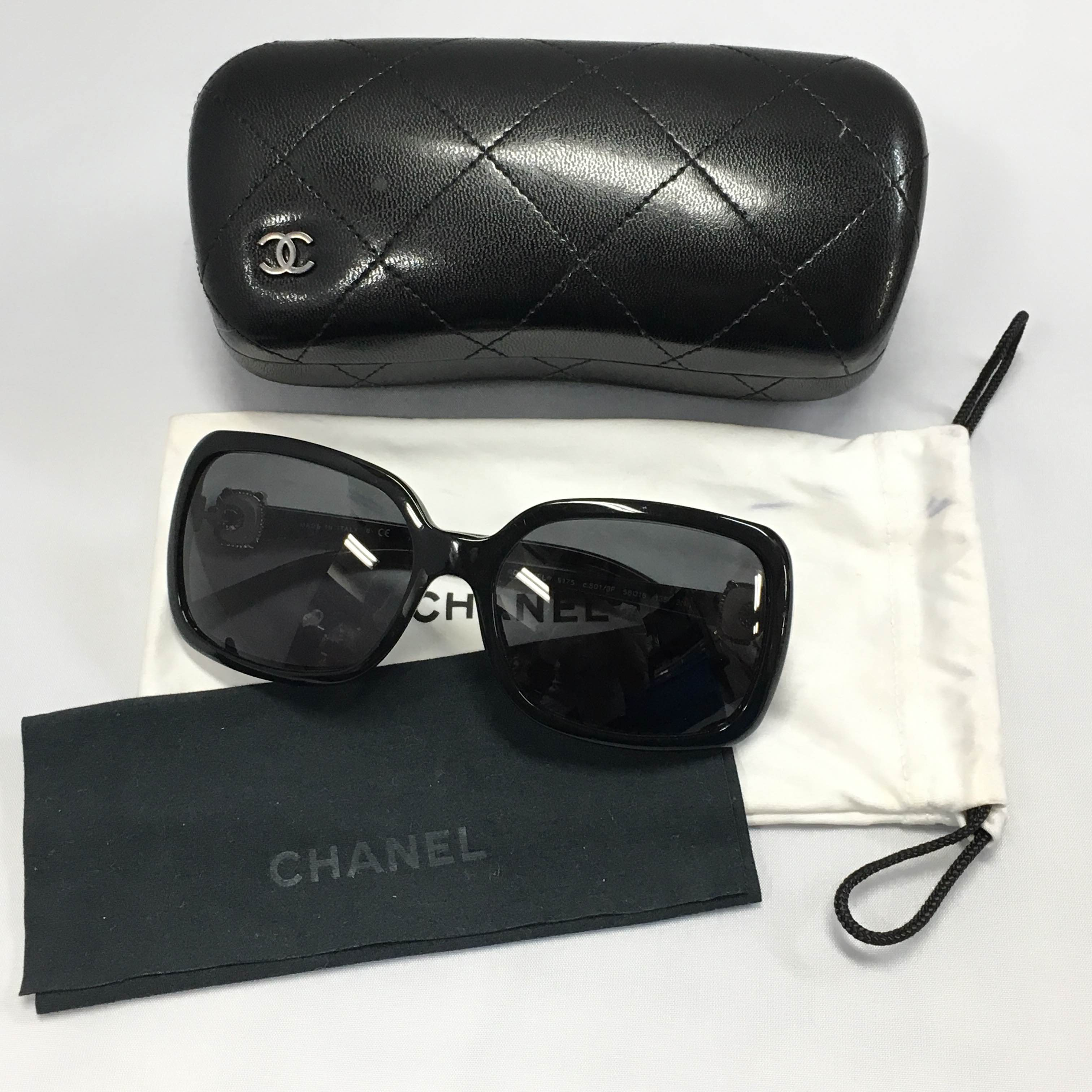 CHANEL シャネル☆サングラス ブラック