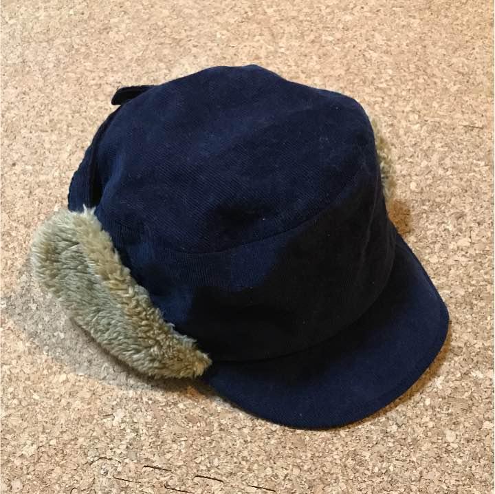無印良品 耳あて付き帽子 50cm