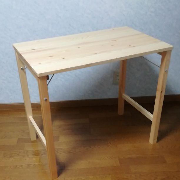 無印良品 折りたたみ机 折りたたみテーブル パイン材
