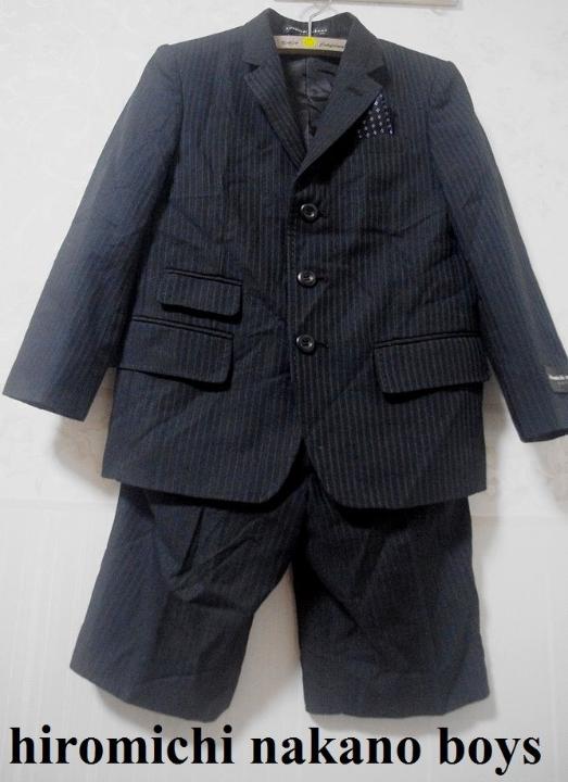 e547b7f226f13 メルカリ - ヒロミチ ナカノ ボーイズ フォーマル スーツ セット 120 ...