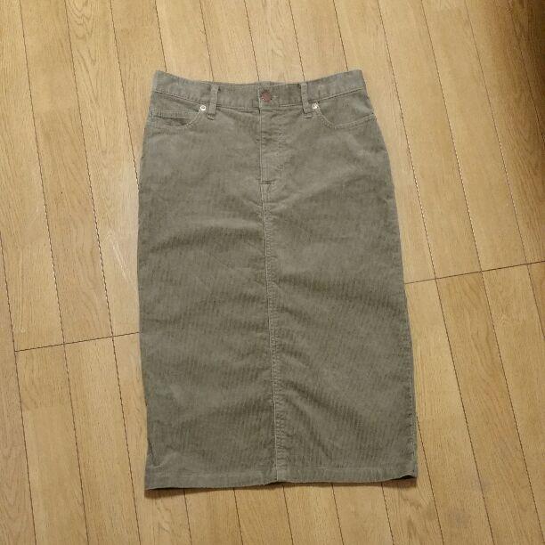GUのコーデュロイスカートと比較してみました♡(笑)