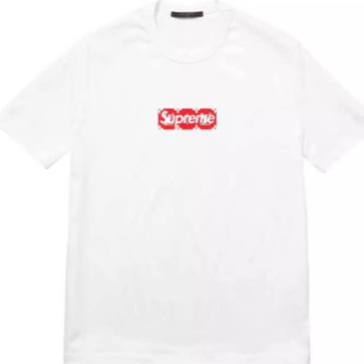 Supreme Louis Vuitton box tシャツ☆XXL