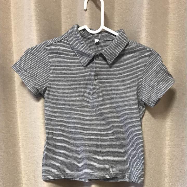 ポロシャツ 無印良品 110