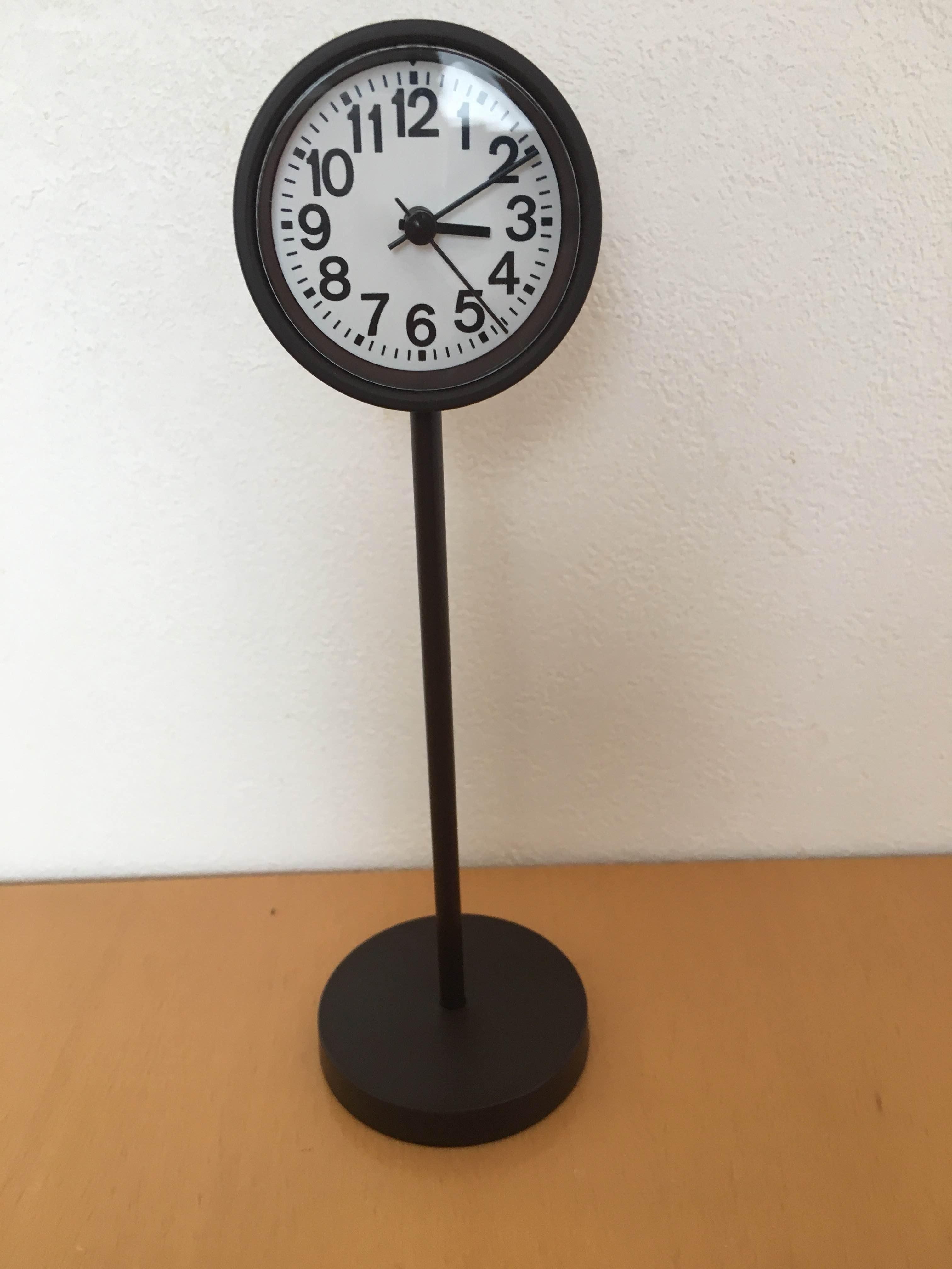 じぶんで読める時計