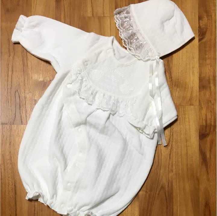 67fe2873691d5 メルカリ - 日本製 ベビードレス 50〜70 ロンパース  西松屋  (¥600 ...