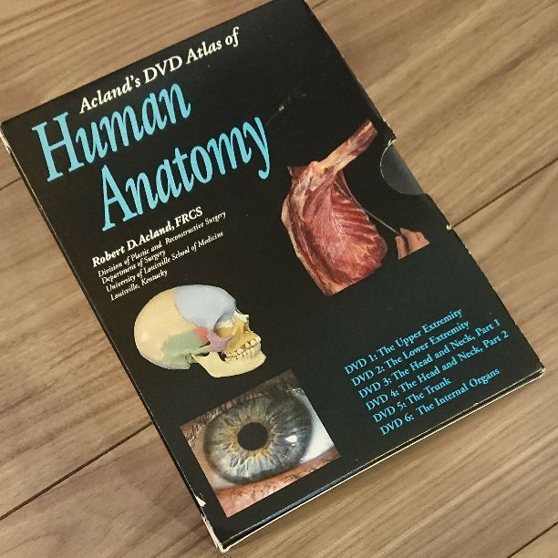 Aclands Dvd Atlas Of Human Anatomy