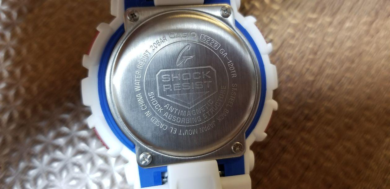 腕時計 CASIO G-SHOCK GA-120TR-7AJF メンズ