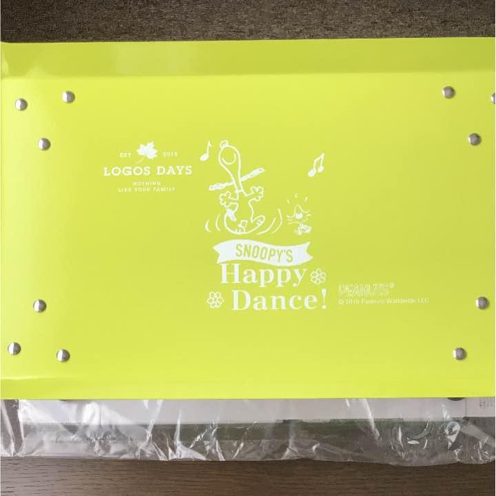 ロゴス カラータフテーブル ☆ スヌーピー