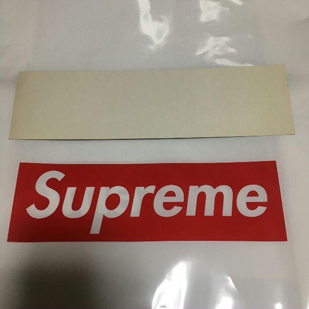メルカリ supreme gucci box logo ステッカー ボックスロゴ グッチ