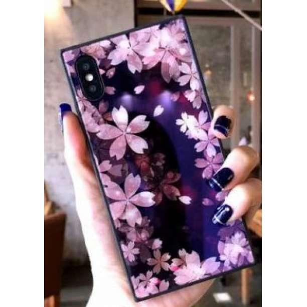 c26c2fc4d6 メルカリ - iPhoneケース 桜柄 サクラ スクエアケース 携帯ケース 新品 ...