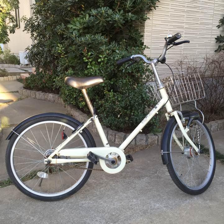 無印の子供用自転車