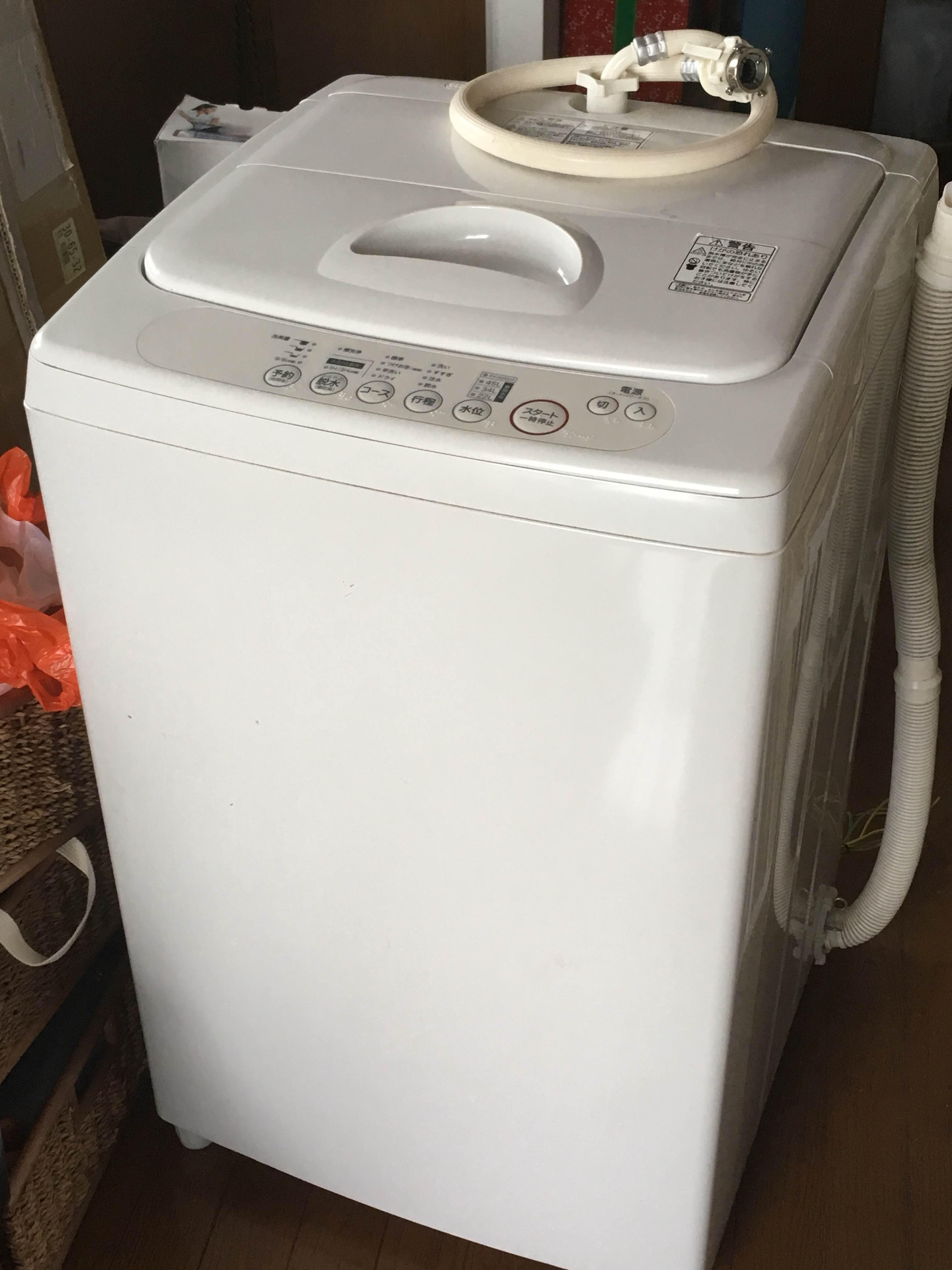 電気洗濯機・6kg 型番:AQW‐MJ60