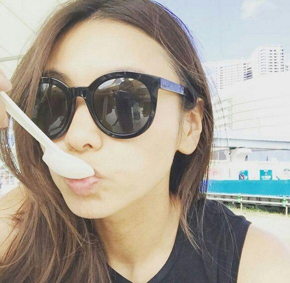 滝沢眞規子のサングラス画像