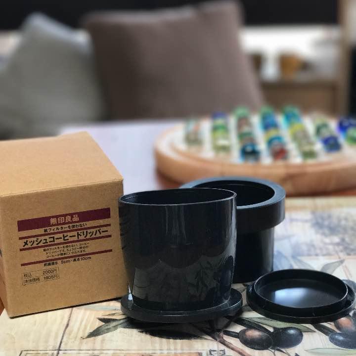 基本、カルディのドリップコーヒーかインスタントですが、珈琲豆を買ったので。