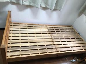 ... ベッド セミダブル すのこベッド 木製 木 ウッド フレームのみ ニトリ IKEA 無印好きに人気| ...