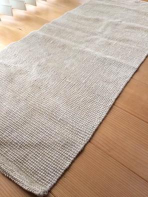 無印良品 麻 ジュート布 玄関マット キッチンマット 絨毯 ラグ