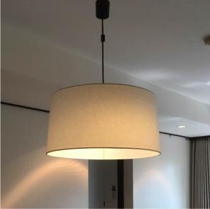 無印良品 LED麻シェードペンダントライト・2灯