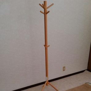 無印良品 ハンガーラック 木製