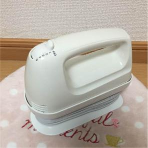 6719☆1スタ☆Just Plan ハンドミキサー HM-400 4段階切替 収納ケース付
