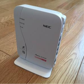Driver UPDATE: NEC Aterm WF300HP Router