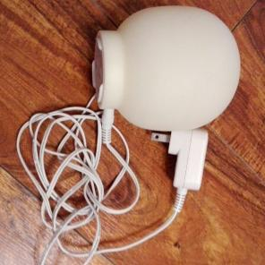 シンプルで使いやすい♪タイマー&LEDライト付☆アロマランプ