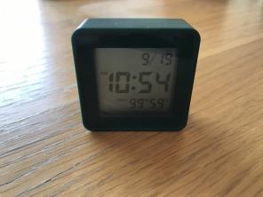 無印良品 駅の時計 アラームクロック 置き時計 掛け時計