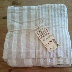 無印良品 和式 布団カバーセット新品