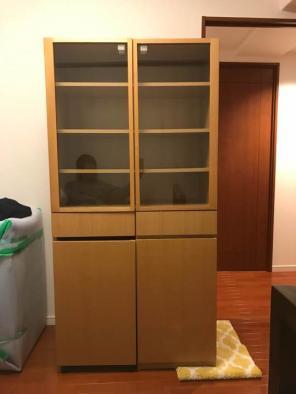 出典元:Instagram. こちらは無印の食器棚 ...