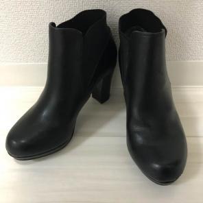 *6/13まで* 美品 NUOVO ショートレザーブーツ ブラック