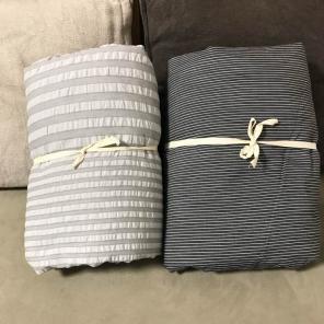 無印良品 MUJI かけ布団カバー 2枚セット ダブルサイズ