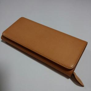 MUJI(無印良品)ラウンドジップ長財布 < 男性ファッションの