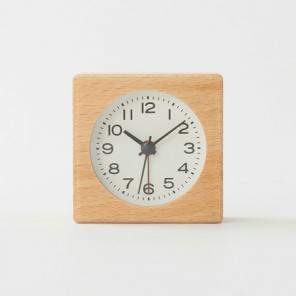 ... アナログ時計・小(スタンド付) 掛置時計・ブラック ...