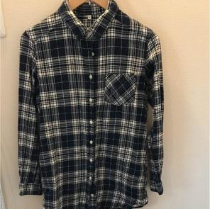 無印良品 フランネルシャツ トップス チュニック