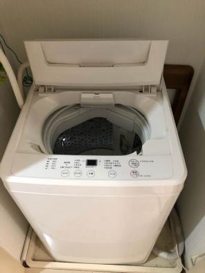 洗濯機 (無印良品 全自動電気洗濯機 ASW-MJ45)