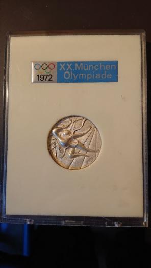ミュンヘンオリンピック メダル...