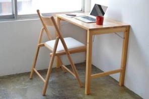 無印良品 パイン材デスク椅子セット