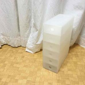 無印良品☆ポリプロピレン小物収納ボックス6段