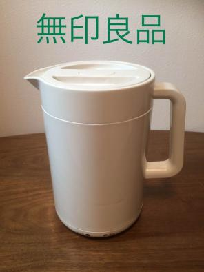 無印良品☆MUJI 電気ケトル☆MJ-EK5A 2016年製 美品の