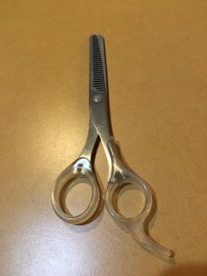 無印良品 髪用すきはさみ(未使用)