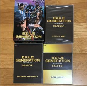 EXILE GENERATION DVD season商...