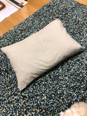 無印良品 羽根枕 カバーセット